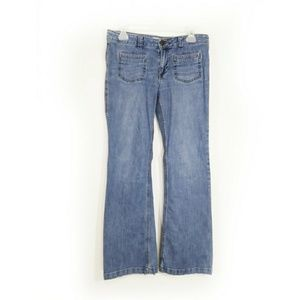 💲3/$15 Cabi low rise boot cut jeans size 6